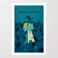 The Birds Art Print by Ale Giorgini - $17.60