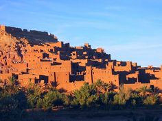 The town of Ait-Ben-Haddou, located on the southern slopes of the High Atlas Mountains, is one of the most spectacular manmade sights along ...