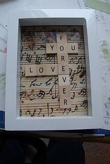 frame idea so cool with the music notes in he background