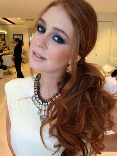 anne makeup®: mural de beauté: cabelo de lado, o penteado para qualquer ocasião