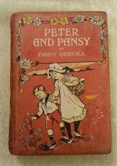 Peter and Pansy by Daisy Darvill Vintage Wyman Sons Ltd 1922 Inscription | eBay