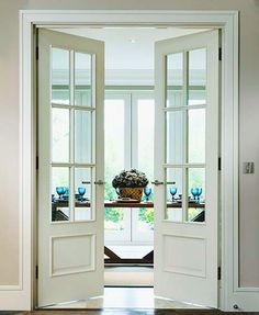 Tips, secrets, along with guide beneficial to acquiring the greatest end result and also attaining the max use of french door curtains Internal Double Doors, Double Glass Doors, Glass French Doors, Glass Internal Doors, Bifold Internal Doors, Sliding French Doors, Double Doors Interior, Interior Barn Doors, Exterior Doors