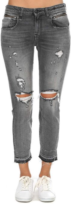 R13 Biker Boy Ripped Jean ~CLICK TO BUY~