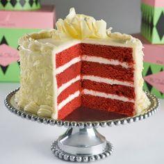 Red Velvet Cocoa Cake (Bolo de cacau veludo vermelho da Wilton)   Canal Cozinha