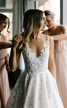 Wonderful Perfect Wedding Dress For The Bride Ideas. Ineffable Perfect Wedding Dress For The Bride Ideas. Wedding Dress Shopping, Dream Wedding Dresses, Wedding Dressses, Lace Wedding Gowns, A-line Wedding Dresses, Aline Wedding Dress Lace, Dresses Dresses, Dresses Online, Tulle Wedding