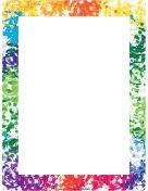 Colorful Borders...  FREE Page Borders-375 page borders that you can download and print in your choice of file formats..love these, so many uses for daily work, scrapbooking, letter writing, highlighting photos, kids work.....