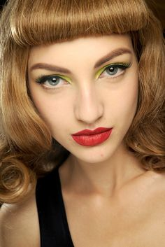 Christian Dior Spring 2011 Ready-to-Wear Fashion Show Beauty