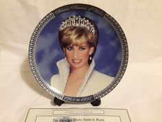 Diana hercegnő limitált emlék tányér - Porcelán   Galéria Savaria ...