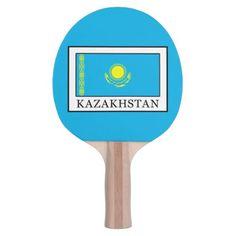 Kazakhstan Ping-Pong Paddle