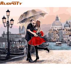 Framed Romantic Kiss Lover DIY Painting By Numbers Landscape Acrylic Picture Wall Art Hand Painted Oil Painting For Home Decor Kiss Painting, Oil Painting On Canvas, Figure Painting, Oil Paintings, Digital Paintings, Acrylic Paintings, Modern Canvas Art, Modern Wall Art, Wall Art Pictures