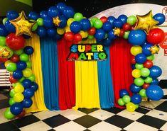 Mario Birthday Cake, Super Mario Birthday, Super Mario Party, Bolo Super Mario, Super Mario Bros, Mario Bros., Mario And Luigi, Mario Kart, Mario Bros Cake