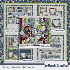 Flakey Friends BIG Bundle