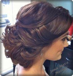 Mooie haren voor op de bruiloft