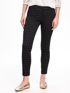 Mid-Rise Pixie Ankle Pants for Women $16.97 - $34.94 ☆☆☆☆☆ ☆☆☆☆☆ 4.4 out of 5 stars. Read reviews. 4.4  (601) Write a review . This action will open a modal dialog. Color: Black Print