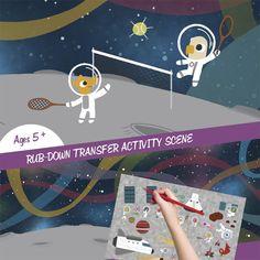 Space Adventure - Transfer Activity craft