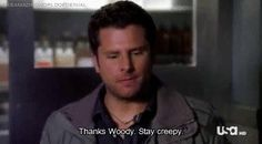 "Even though you probably already know that ""Psych"" is a great show, here are 15 definitive reasons to park yourself in front of your TV and catch new episodes every Wednesday at on USA. Psych Memes, Psych Tv, Psych Quotes, Tv Quotes, Watch Psych, Funny Quotes, Memes Humor, Real Detective, Shawn Spencer"