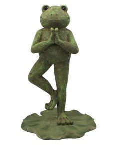Yoga Frogs | Zen Décor | Garden Statues