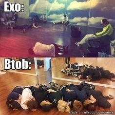 The boys, the boys, the boys, the boys XD Is this why I like you guys? I don't even know anymore XD #BTOB #EXO