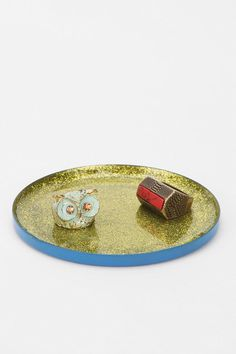 Plum & Bow Glitter Catch-All Dish #urbanoutfitters