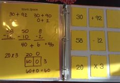 Love this Interactive Math Notebook!  It's easy to customize for grade level or individual student.