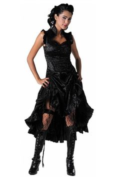 Jawbreaker Clothing - Gothic Velvet Dress
