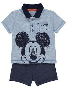 470f2bc1a82cb6 Disney Baby Mickey Mouse Polo Top and Shorts Outfit USA – characteroutletfi  Disney Baby Clothes,