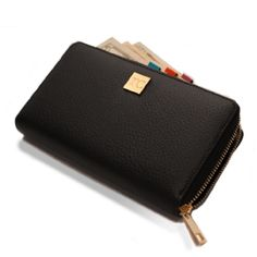 NEW! Wallet + Clip System – Black $39.99 The NEW Wallet and Clip System, inspired by Rachel Cruze, is a fresh update on the popular envelope system. It includes five colored clips to help you control your spending. Stylish and practical, this is the perfect companion piece for your busy life!