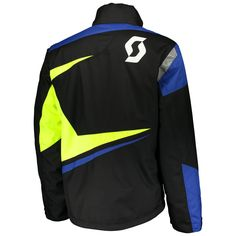 Scott TEAMR Jackets (BLK/BLU). *DRYOsphere Technology**Insulation 150g**Non Removable Lining* Insulation, Motorcycle Jacket, How To Remove, Snow, Technology, Jackets, Fashion, Down Jackets, Moda