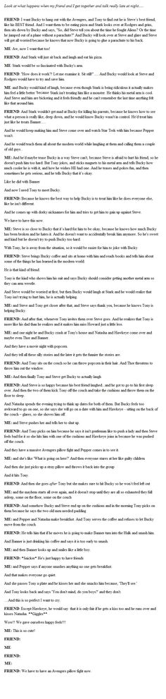 THIS COUNTS. Avengers #Fanfiction