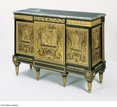Cabinet Probably Joseph Baumhauer (died France and England c. 1765 - c. Luis Xiv, State Room, Marquetry, Treasure Island, Antique Furniture, Decorative Accessories, 19th Century, Joseph, Art Decor