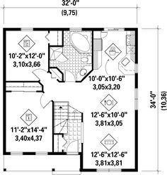 Plan #25-4448 - Houseplans.com