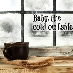This was a cold week.  Everything I touch is like ice.  The water pipes are frozen by times. At times only a small stream comes forth which makes a simple task like filling the kettle a chore.  But we will survive....Brr... 🙂🌬☕🌟 Coffee Talk, I Love Coffee, Coffee Break, My Coffee, Morning Coffee, Coffee Cups, Drink Coffee, Coffee Humor, Coffee Quotes