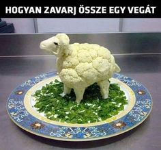Find out how to confuse a vegan or a vegetarian. Once you see this you might want to try this out on any vegan or vegetarian friends you have!