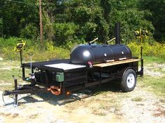 Compete at tailgates or in the BBQ circuit with the East Texas Smoker Company BBQ trailer! Outdoor Smoker, Outdoor Kitchen Grill, Outdoor Cooking, Outdoor Kitchens, Bbq Pit Smoker, Barbecue Pit, Bbq Grill, Competition Smokers, Bar B Que Pits