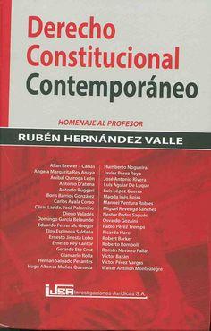 https://flic.kr/p/yE2a77 | Derecho constitucional contemporáneo : homenaje al profesor Rubén Hernández Valle / Allan Brewer-Carias, Osvaldo Alfredo Gonzaini... [et al.], 2015 | encore.fama.us.es/iii/encore/record/C__Rb2676982?lang=spi