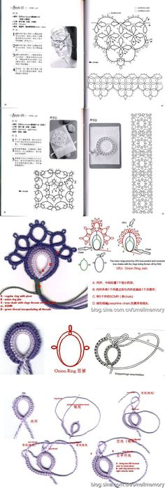 Beautiful tatting magazine for beginners You are in the right place about Cardio hombres Here Tatting Armband, Tatting Bracelet, Tatting Lace, Shuttle Tatting Patterns, Needle Tatting Patterns, Crochet Patterns, Needle Tatting Tutorial, Tutorial Crochet, Sheep Tattoo
