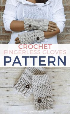 You'll love this fingerless gloves crochet pattern becuase it is super easy to make! Learn how to crochet fingerless gloves with this FREE crochet pattern. Crochet Mittens Pattern, Fingerless Gloves Crochet Pattern, Easy Crochet Patterns, Free Crochet, Crochet Hats, Fingerless Mitts, Crochet Ideas, Hat Patterns, Crochet Granny