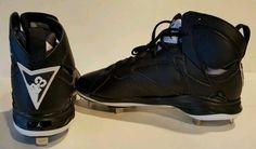 New Nike Air Jordan Retro VII 7 Size 15 Metal Cleats 684943-010 OREO COLORWAY METAL BASEBALL CLEATS #RetroJordans #AirJordan #Jordan #Cleats #Retro7s #Colorway #Size15