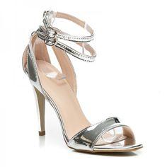 Lakované sandále METALLIC