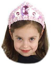 Jewelled Pink Princess Tiara at theBIGzoo.com