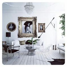 vintage and french - via @interior_to_inspire on instagram