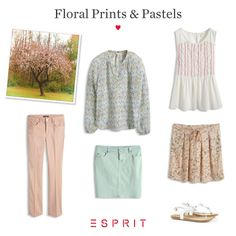 We love the smell of #spring in the air, and our #Esprit #floral #prints and #pastels are perfect for enjoying the #summer and #nature