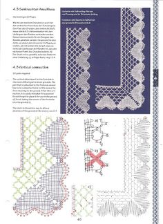 Crochet Borders, Crochet Diagram, Crochet Chart, Bobbin Lace Patterns, Crochet Patterns, Bobbin Lacemaking, Machine Quilting Designs, Lace Jewelry, Diy Headband