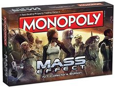 Monopoly: Mass Effect N7 Collector's Edition Board Game