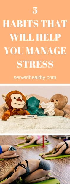 Chronic stress is quickly becoming known as a silent killer responsible for loads of deaths and inflammatory diseases. In today's article, we'll discuss 5 habits that will help you manage stress and feel relaxed.