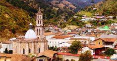 Angangueo Michoacán Pueblo Mágico.
