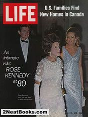 Ted, Rose, and Joan Kennedy  life magazine cover: 24 July 1970