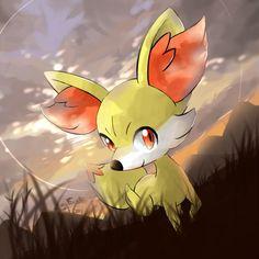 A nice sun set with Pokemon