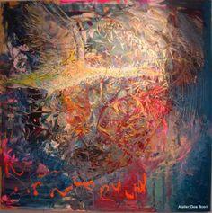 """Saatchi Art Artist Gea Boon; Painting, """"Always on the move part III"""" #art"""