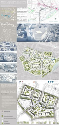Urban Design - Siekierki District on Behance